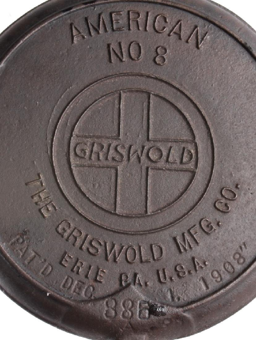 Pair of Griswold No. 8 Waffle Irons with Bases - 13