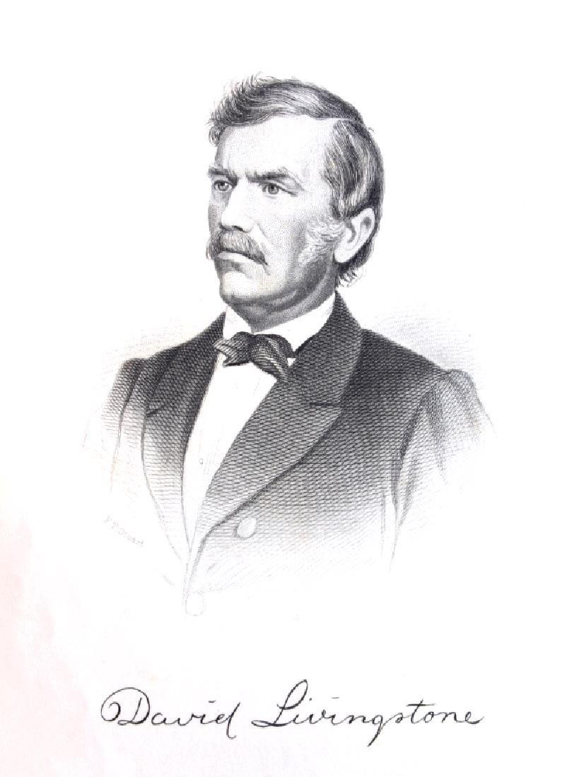 Life & Explorations of Livingstone c.1870 - 4