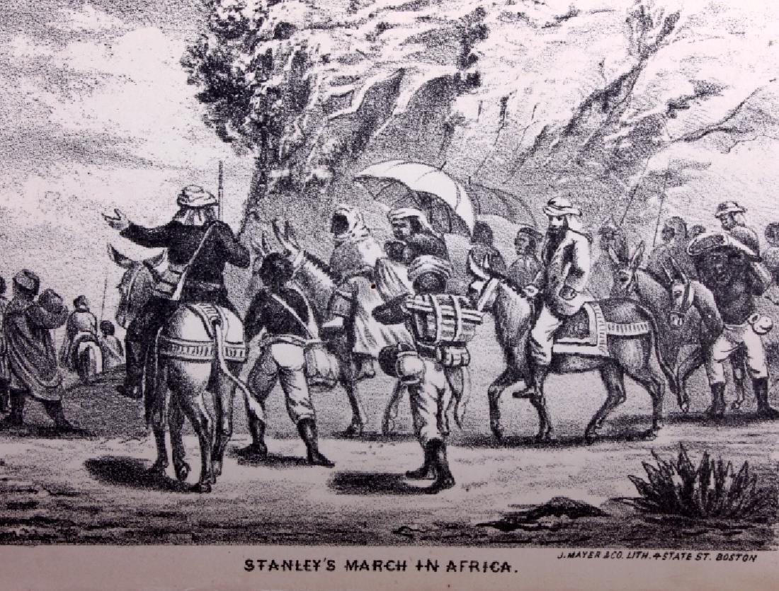 Life & Explorations of Livingstone c.1870 - 8