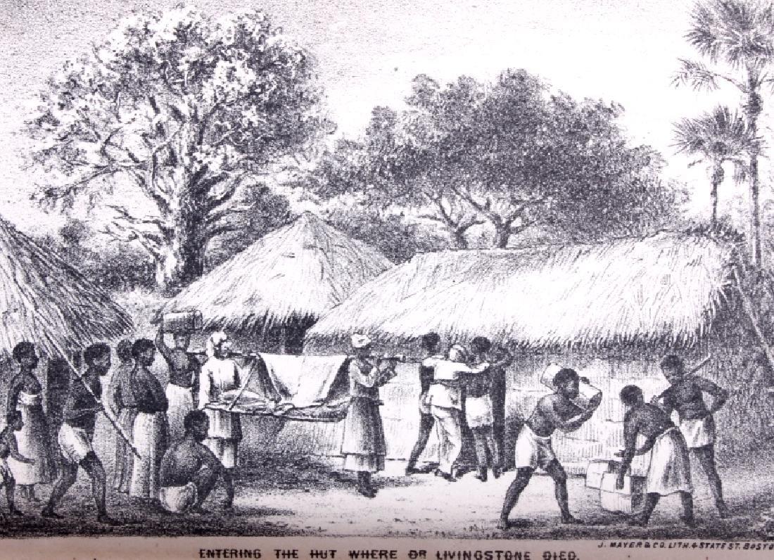 Life & Explorations of Livingstone c.1870 - 9