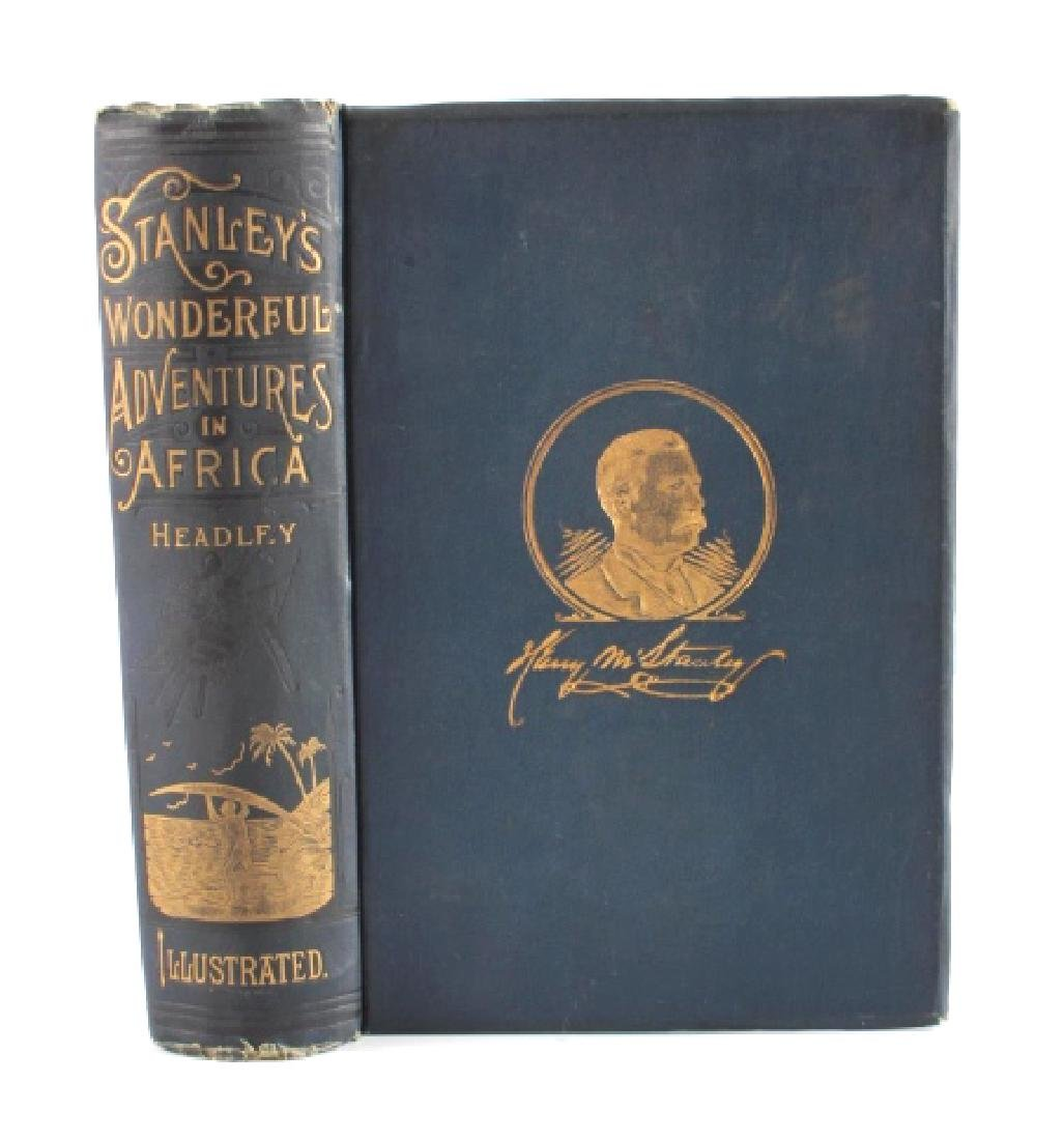 Stanley's Wonderful Adventures in Africa 1st Ed. - 2
