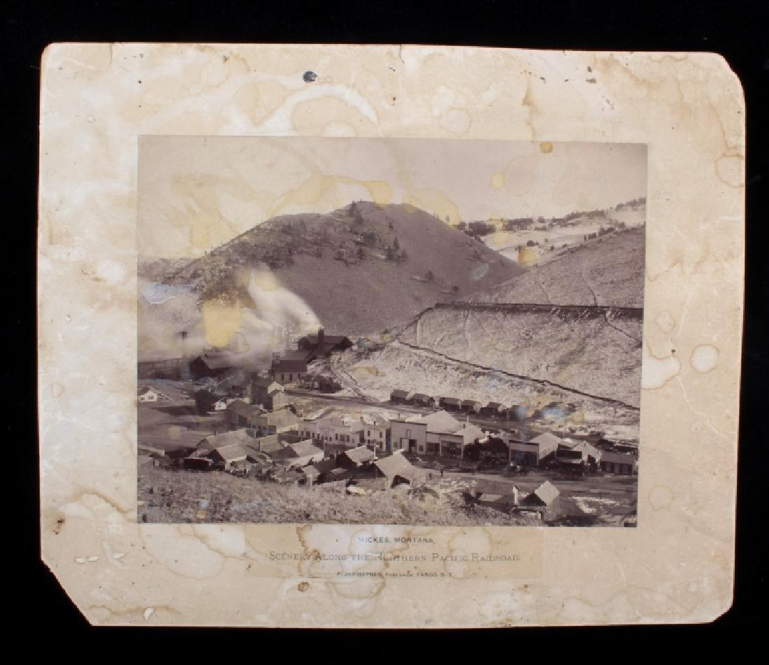 F. J. Haynes Fargo, Dakota Territory N. Pacific RR