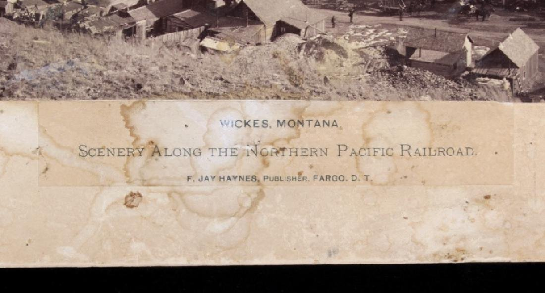 F. J. Haynes Fargo, Dakota Territory N. Pacific RR - 3