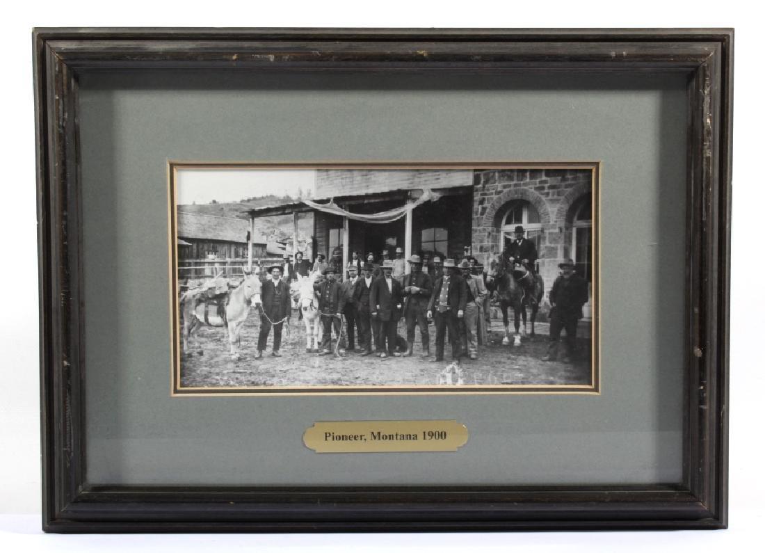 Pioneer, Montana Original Photograph Circa 1900