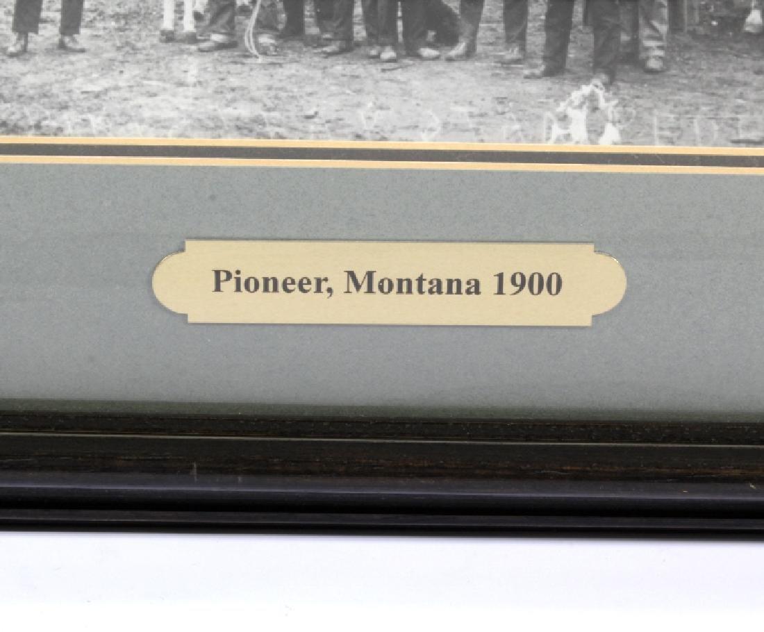 Pioneer, Montana Original Photograph Circa 1900 - 2