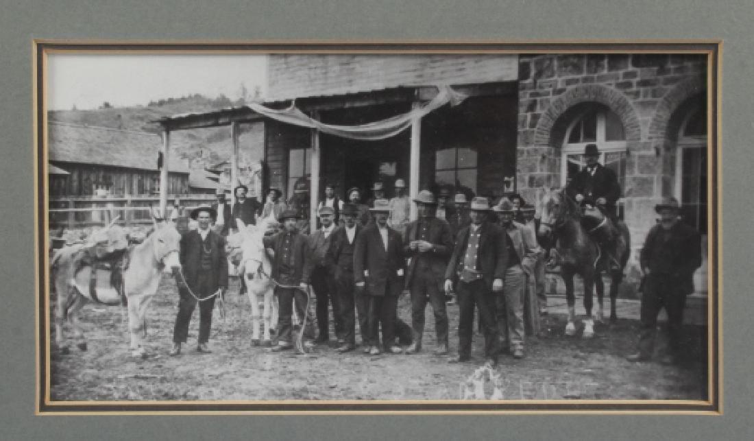 Pioneer, Montana Original Photograph Circa 1900 - 3