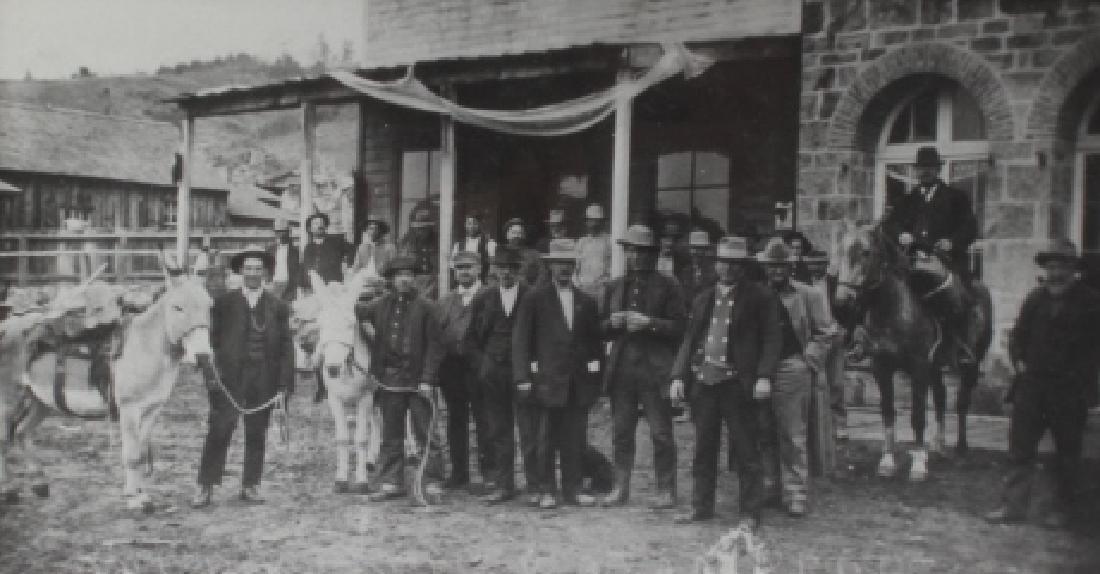 Pioneer, Montana Original Photograph Circa 1900 - 5