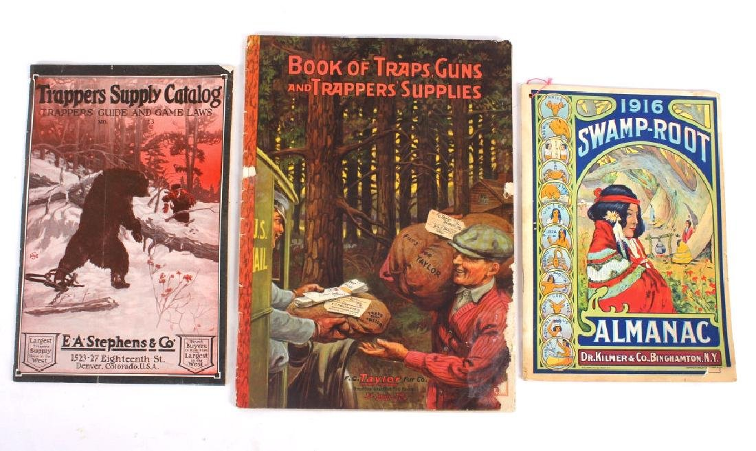 Vintage Trapping Catalog Collection