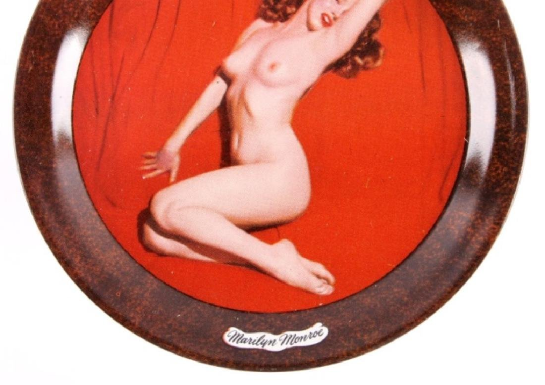 1950's Marilyn Monroe Nude Tip Tray Collection - 4