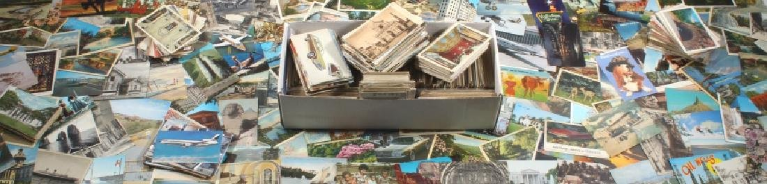 Massive Postcard Collection - Appx. 2000+ Cards