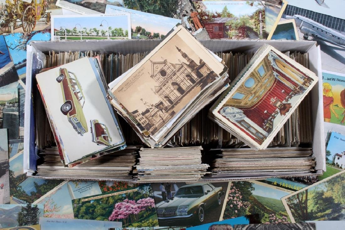 Massive Postcard Collection - Appx. 2000+ Cards - 2