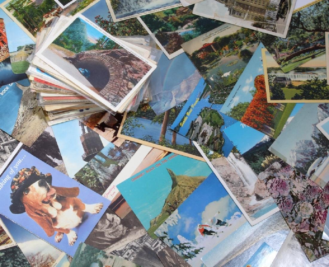 Massive Postcard Collection - Appx. 2000+ Cards - 3