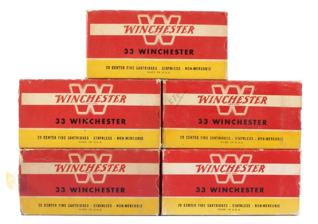33 Winchester Ammo & Boxes Circa 1946 (5)