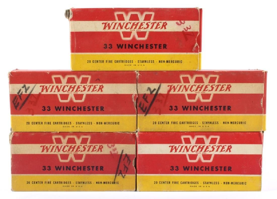 33 Winchester Ammo & Boxes Circa 1946 (5) - 2