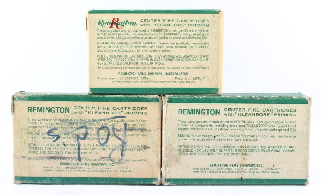 Antique Remington Ammo Boxes in Various Caliber's - 2