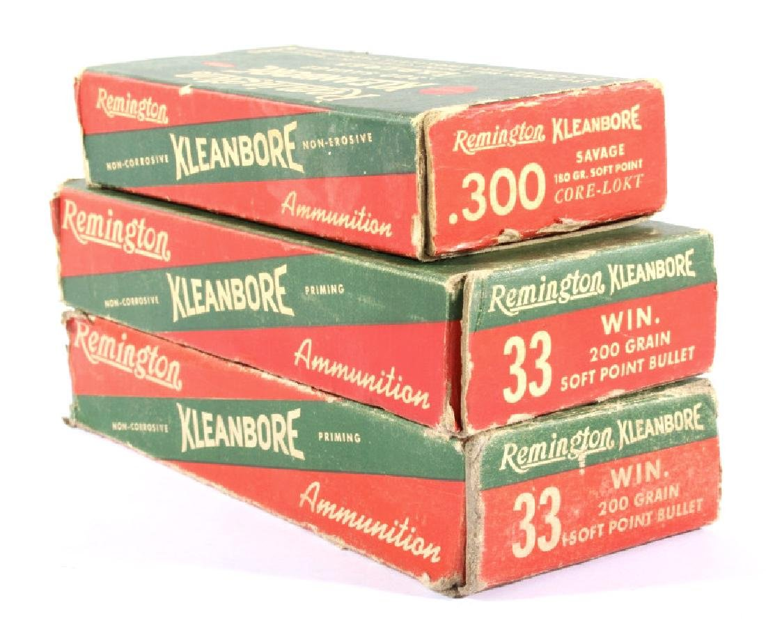 Antique Remington Ammo Boxes in Various Caliber's - 6