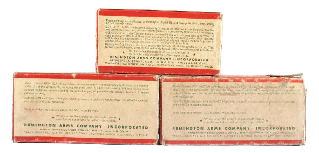 Antique Remington Ammo Boxes in Various Caliber's - 7