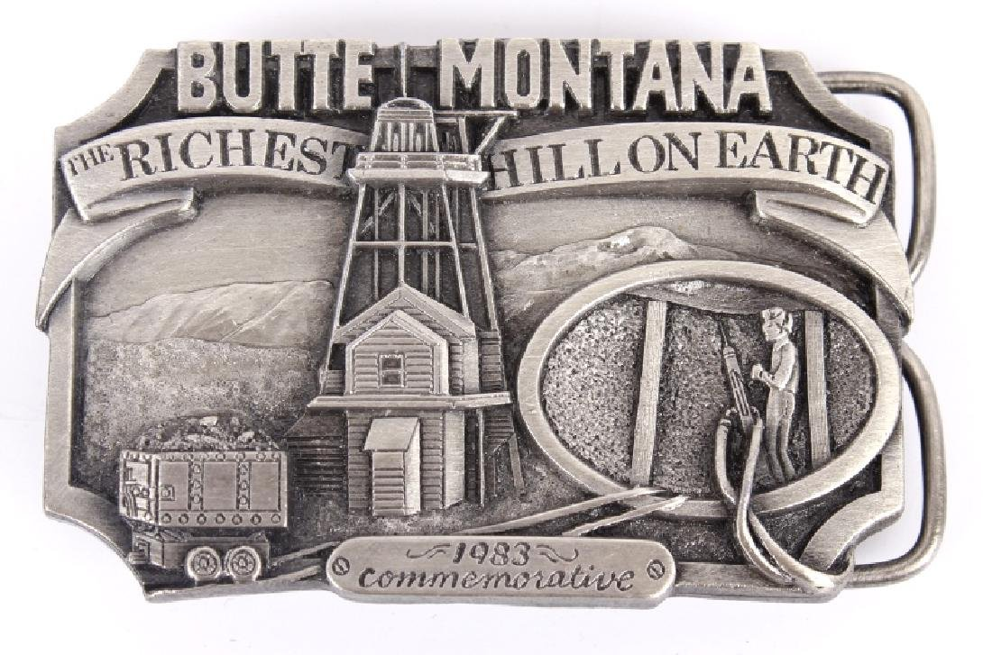 Butte MT Buckle Collection - 2