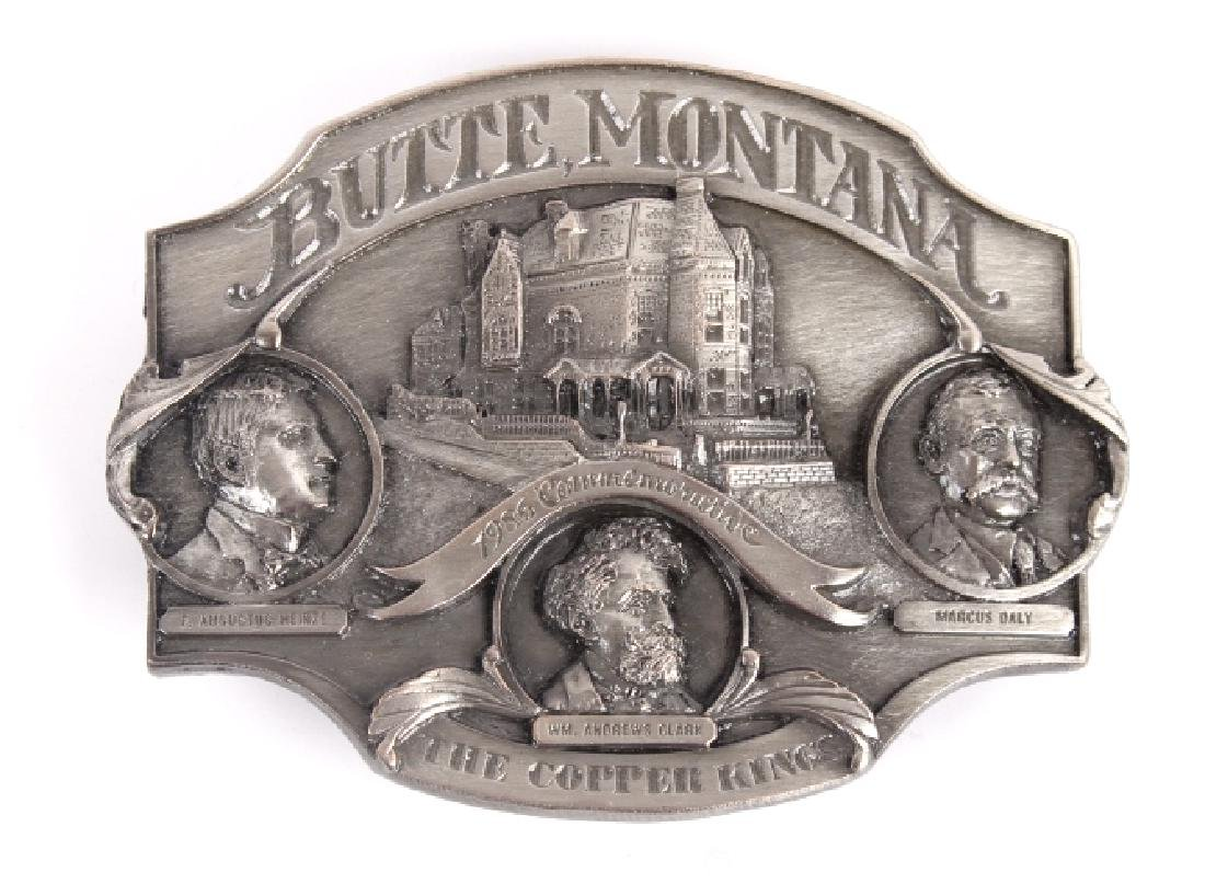 Butte MT Buckle Collection - 6