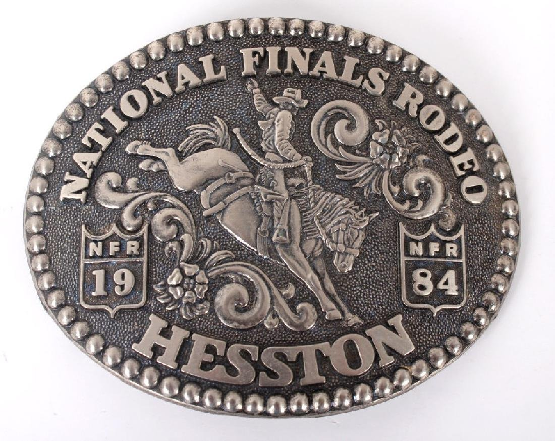 NFR Hesston Limited Edition Men's Buckles (8) - 2
