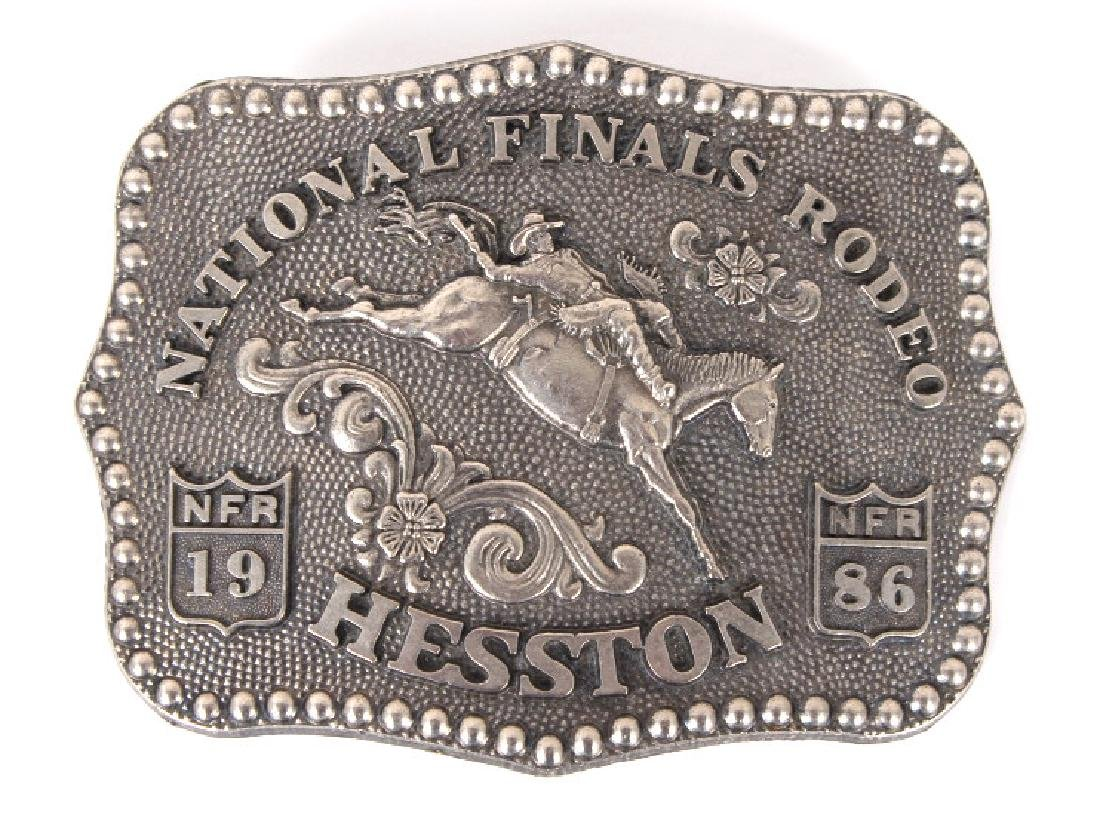 NFR Hesston Limited Edition Men's Buckles (8) - 5