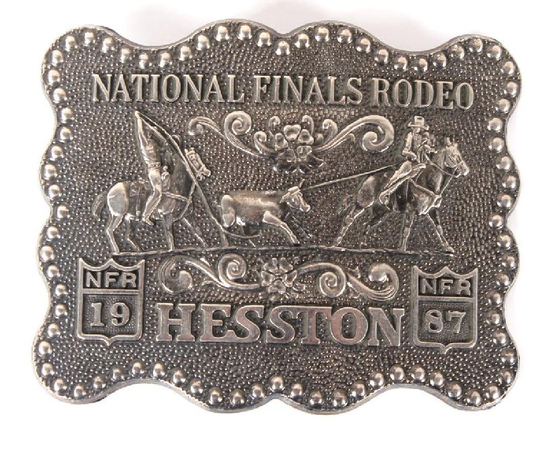 NFR Hesston Limited Edition Men's Buckles (8) - 6