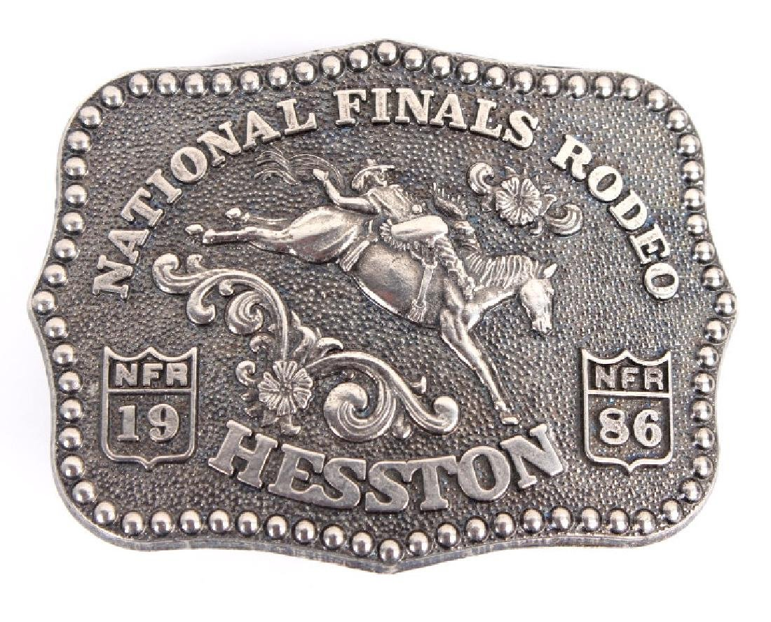 NFR Hesston Limited Edition Women's Buckles (6) - 4