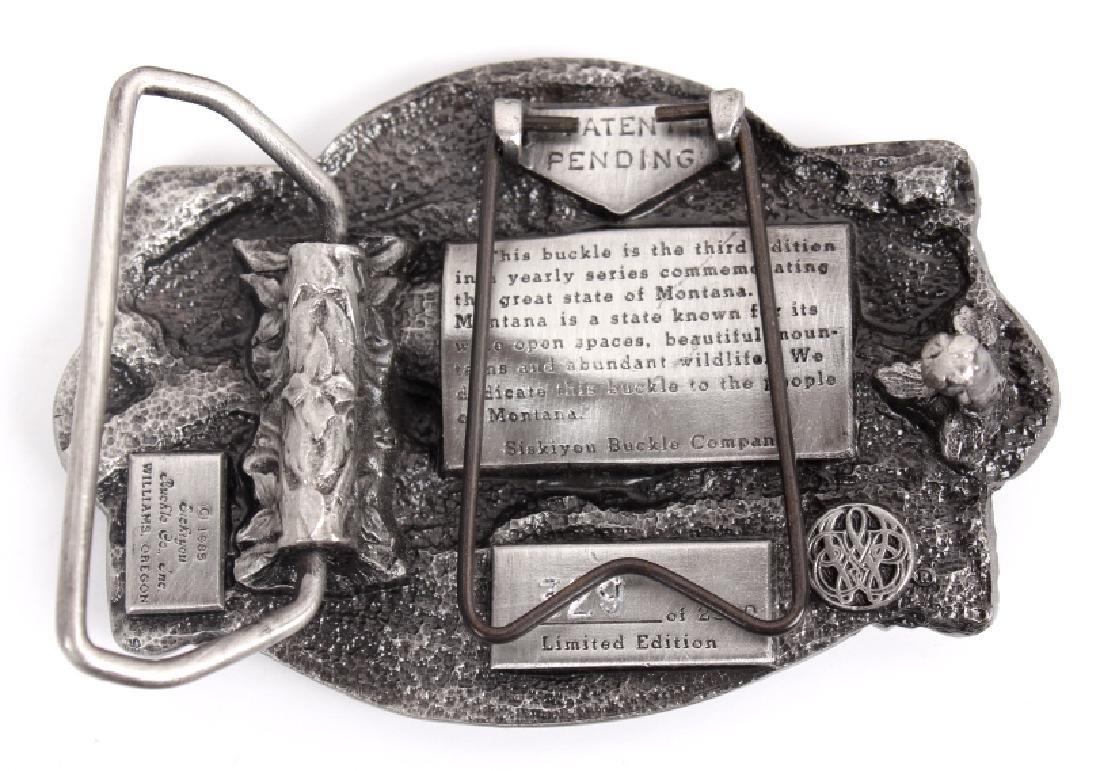 Montana Commemorative Belt Buckle Collection - 11