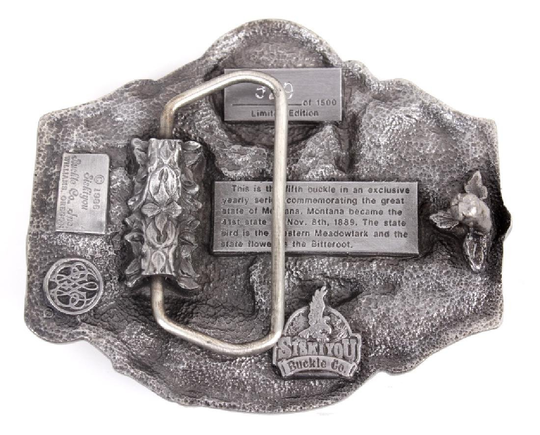 Montana Commemorative Belt Buckle Collection - 12