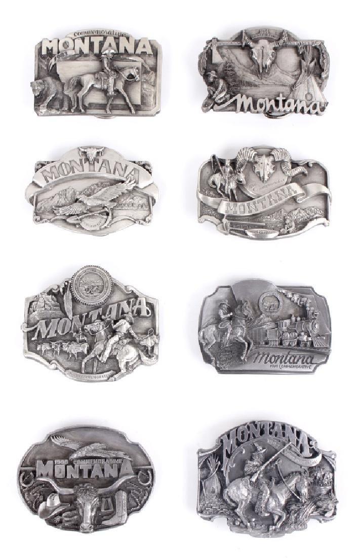 Montana Commemorative Belt Buckle Collection