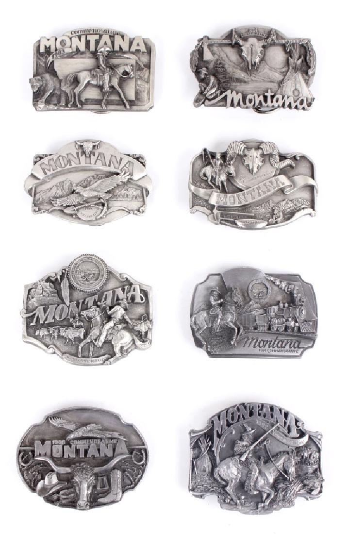 Montana Commemorative Belt Buckle Collection