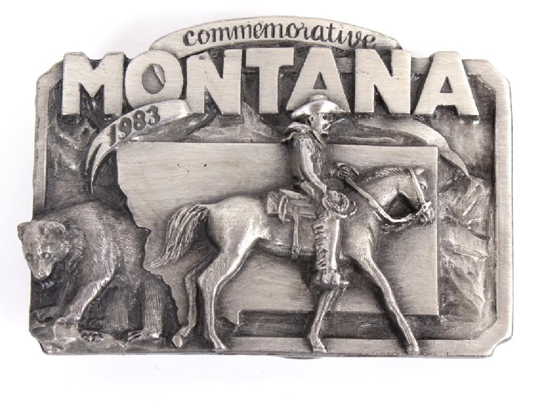 Montana Commemorative Belt Buckle Collection - 2