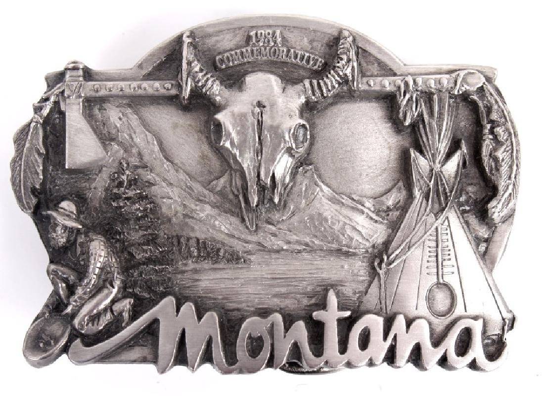 Montana Commemorative Belt Buckle Collection - 3