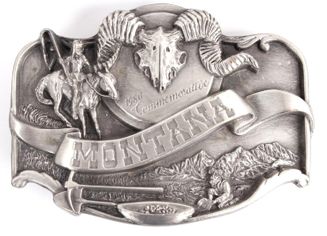 Montana Commemorative Belt Buckle Collection - 5