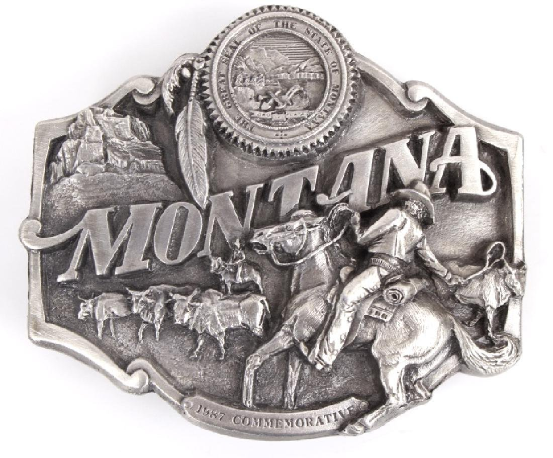 Montana Commemorative Belt Buckle Collection - 6