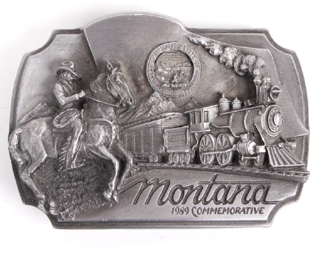 Montana Commemorative Belt Buckle Collection - 7