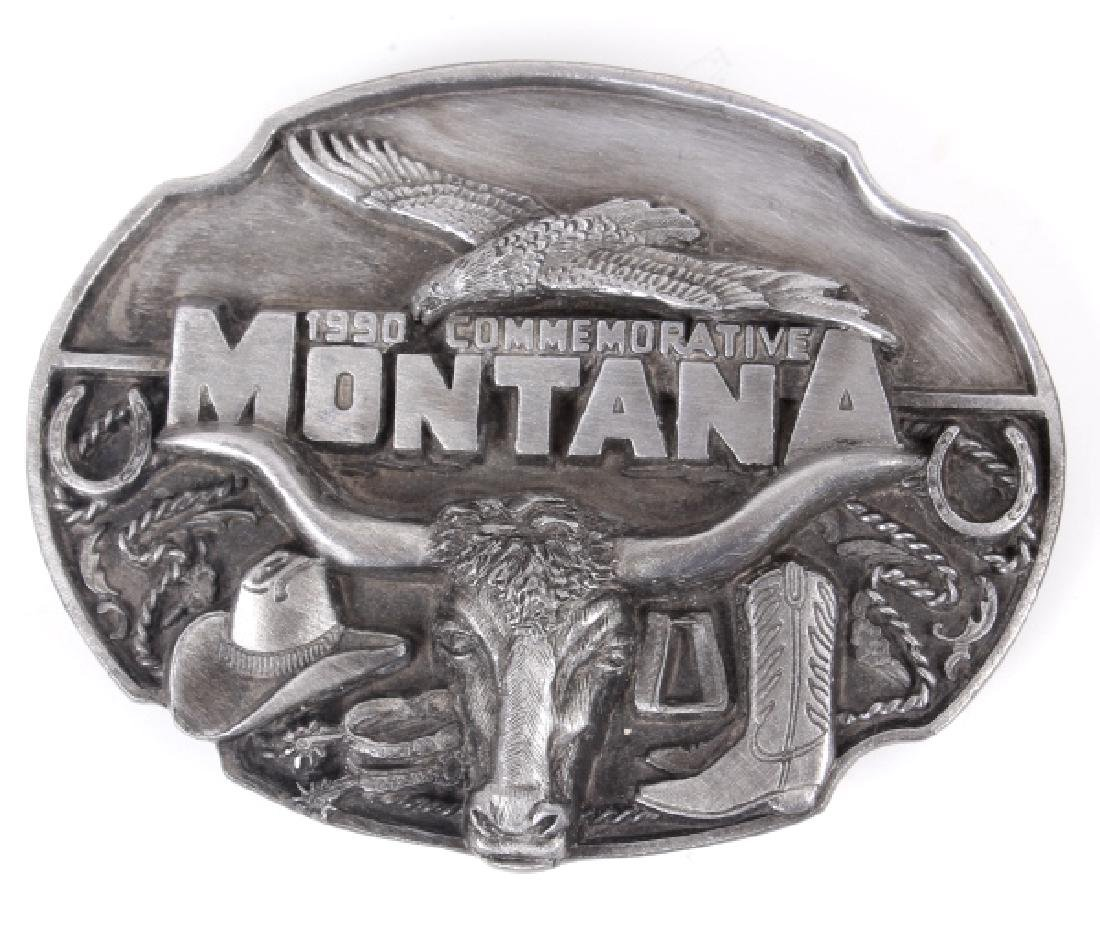 Montana Commemorative Belt Buckle Collection - 8