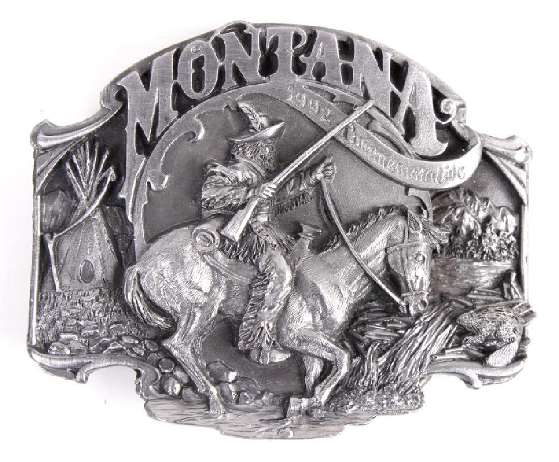 Montana Commemorative Belt Buckle Collection - 9