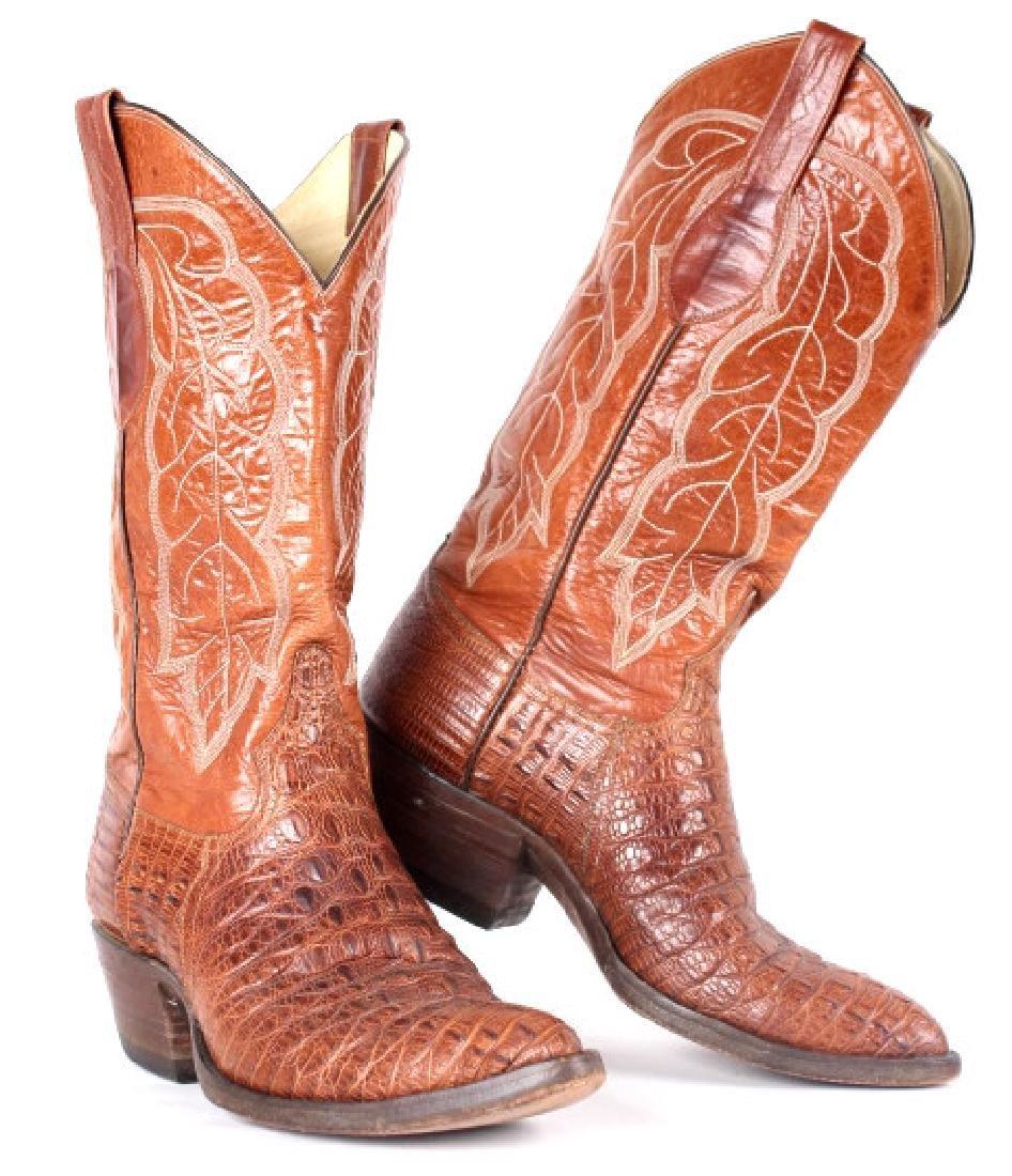 Vintage Darrel Loyd Cowboy Boots