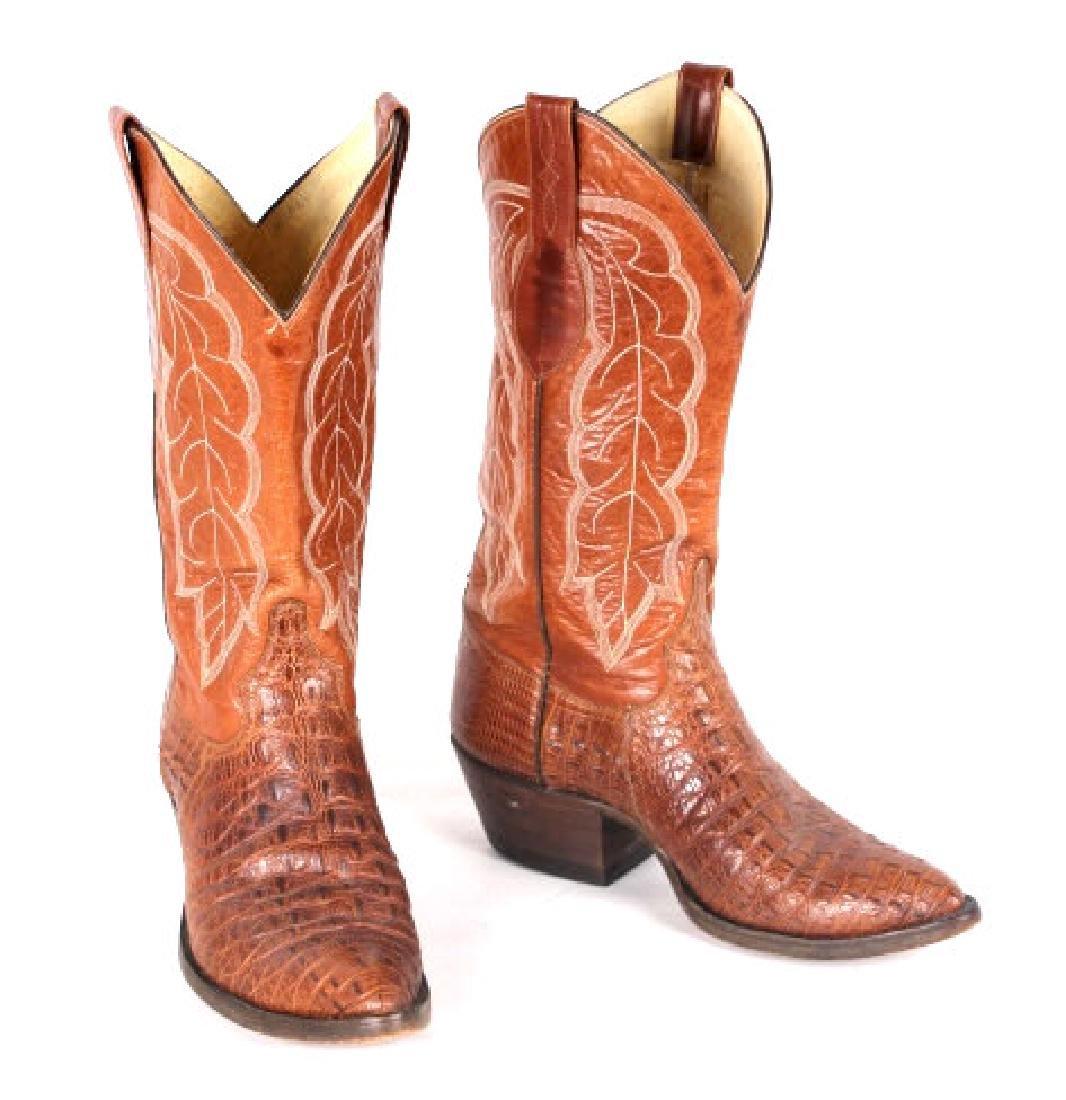 Vintage Darrel Loyd Cowboy Boots - 2