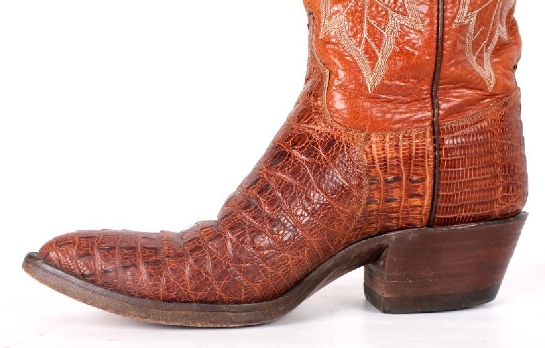 Vintage Darrel Loyd Cowboy Boots - 4