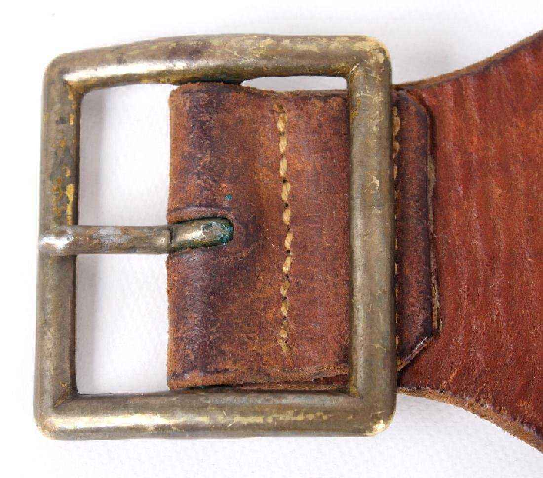Antique George Lawrence Leather Ammo Belt - 2