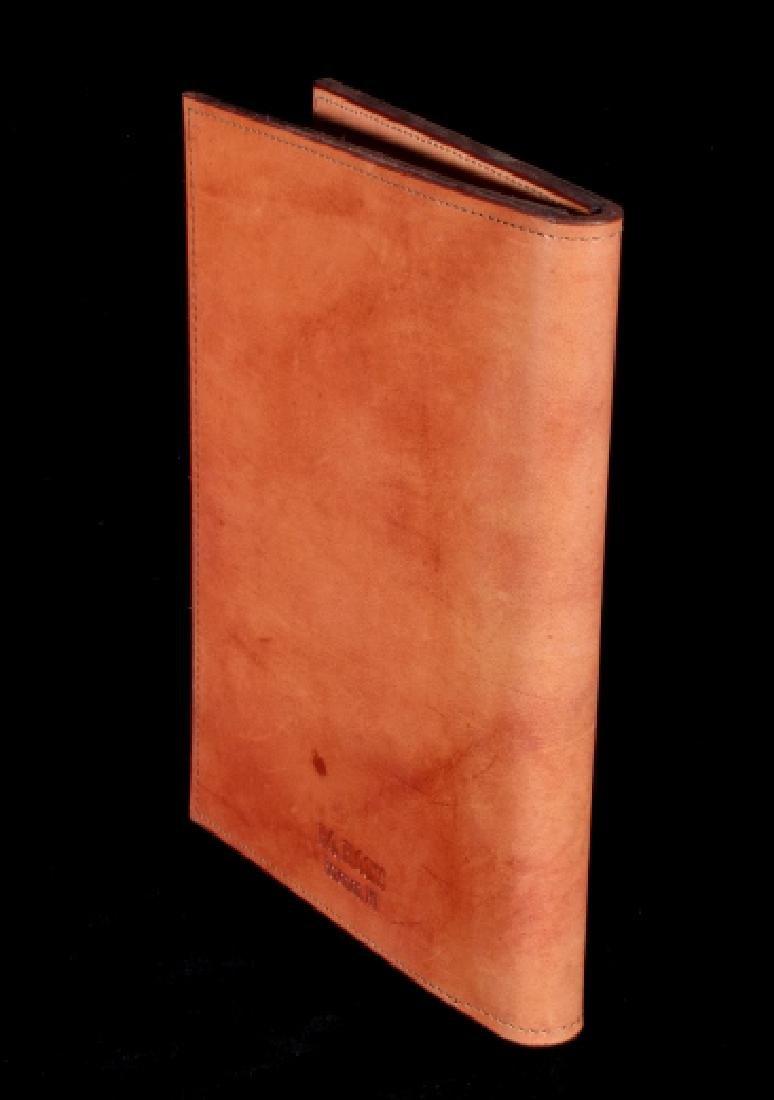 R.O. Brooks Custom Tooled Leather Photo Binders(3) - 5