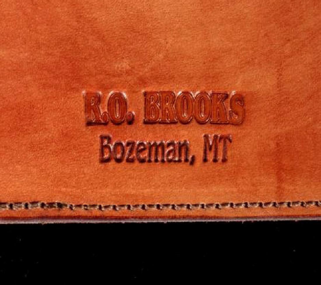 R.O. Brooks Custom Tooled Leather Photo Binders(3) - 6