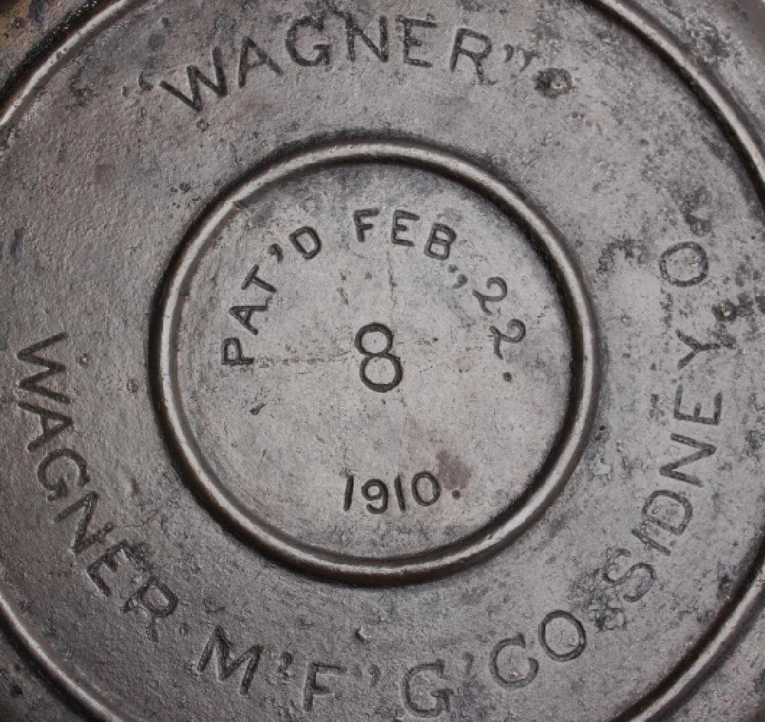Wagner and E.C. Simmons Waffle Irons with bases - 15