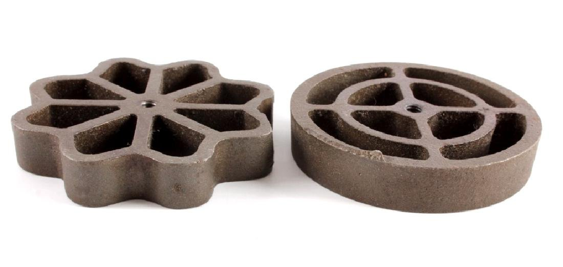 Griswold Cast Iron Patty Molds - 7