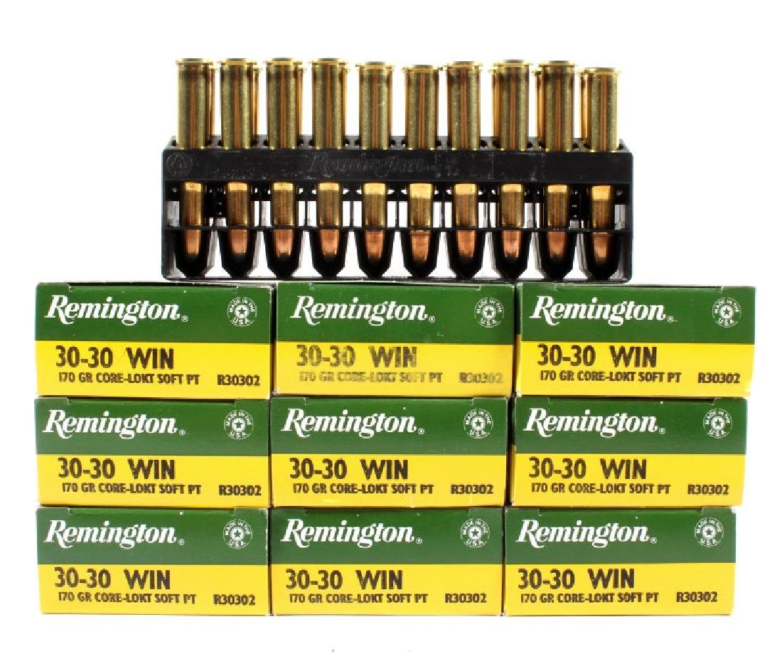 180 Un-Fired Rounds of Remington .30-30 Win 170gr