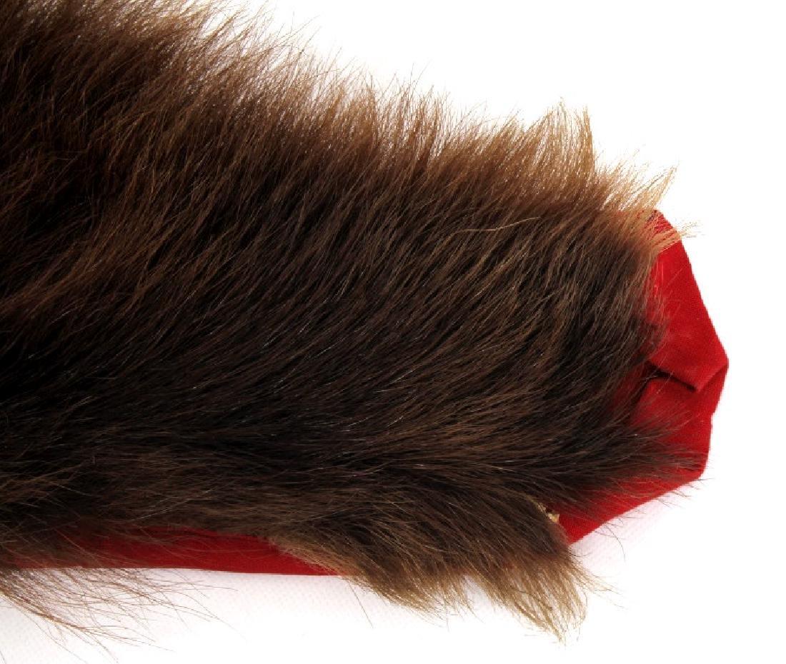 Montana Cinnamon Black Bear Fur Hide - 4
