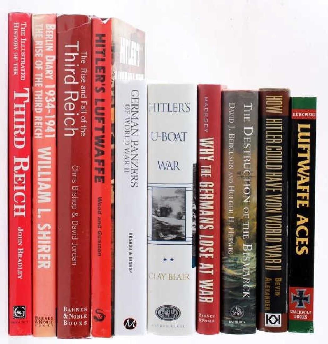Collection of World War II Nazi Germany Books