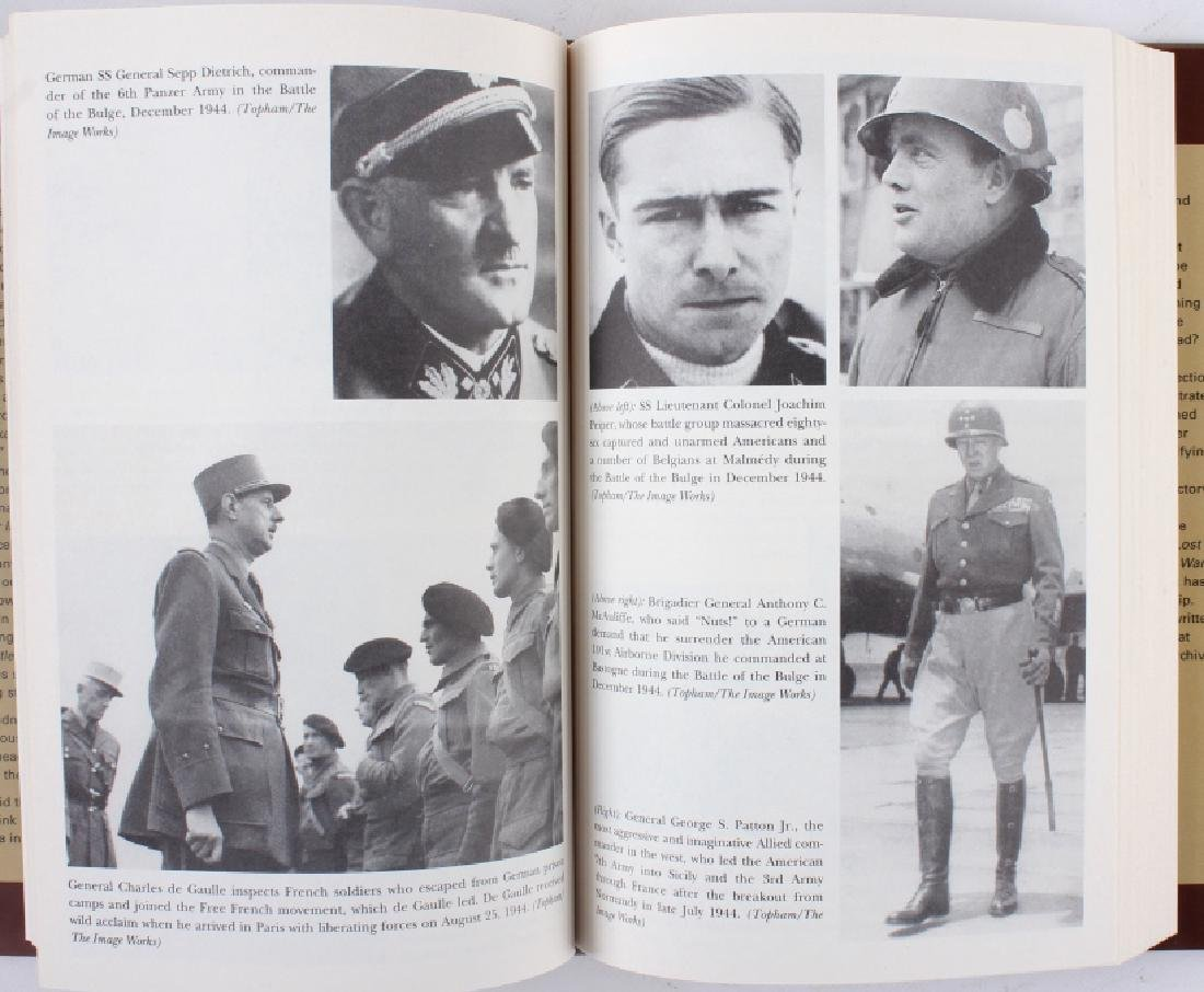 Collection of World War II Nazi Germany Books - 6